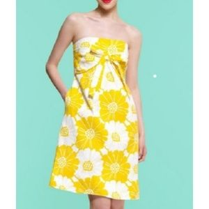 Kate Spade Bloomington Bow Front Strapless Dress